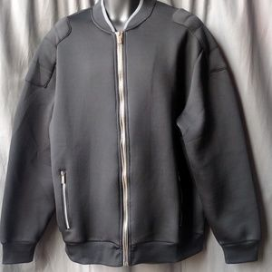 Sean John Zip Up Bomber Jacket - Black 2XL